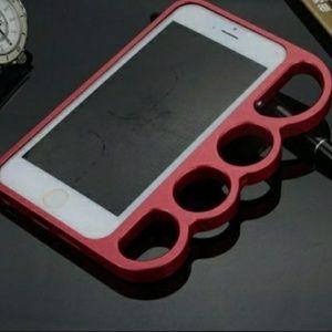 iPhone 7 brass knuckle case